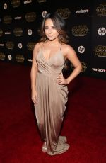 BECKY G at Star Wars: Episode VII – The Force Awakens Premiere in Hollywood 12/14/2015