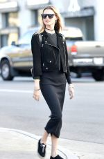 BEHATI PRINSLOO  Out and About in Los Angeles 12/23/2015