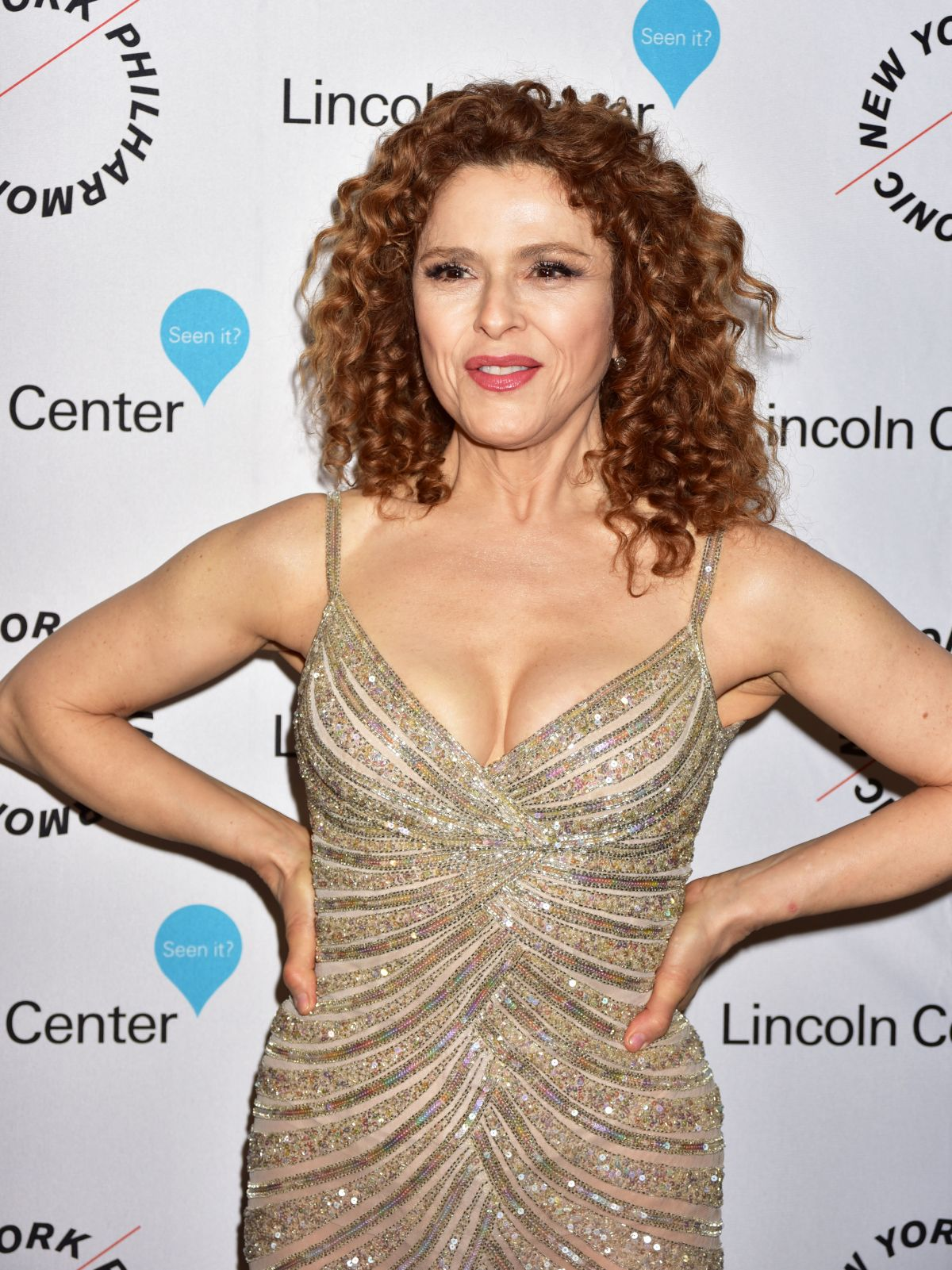 BERNADETTE PETERS at Sinatra 100: An All-star Grammy Concert Celebrating Frank Sinatra in Las Vegas 12/02/2015