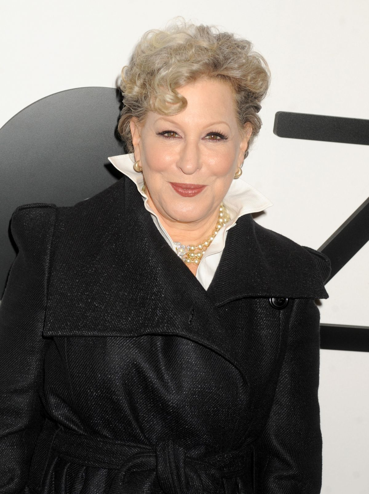 BETTE MIDLER at The Mica and Ahmet Ertegun Atrium Opening in New York 12/17/2015