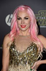 BONNIE MCKEE at Star Wars: Episode VII – The Force Awakens Premiere in Hollywood 12/14/2015
