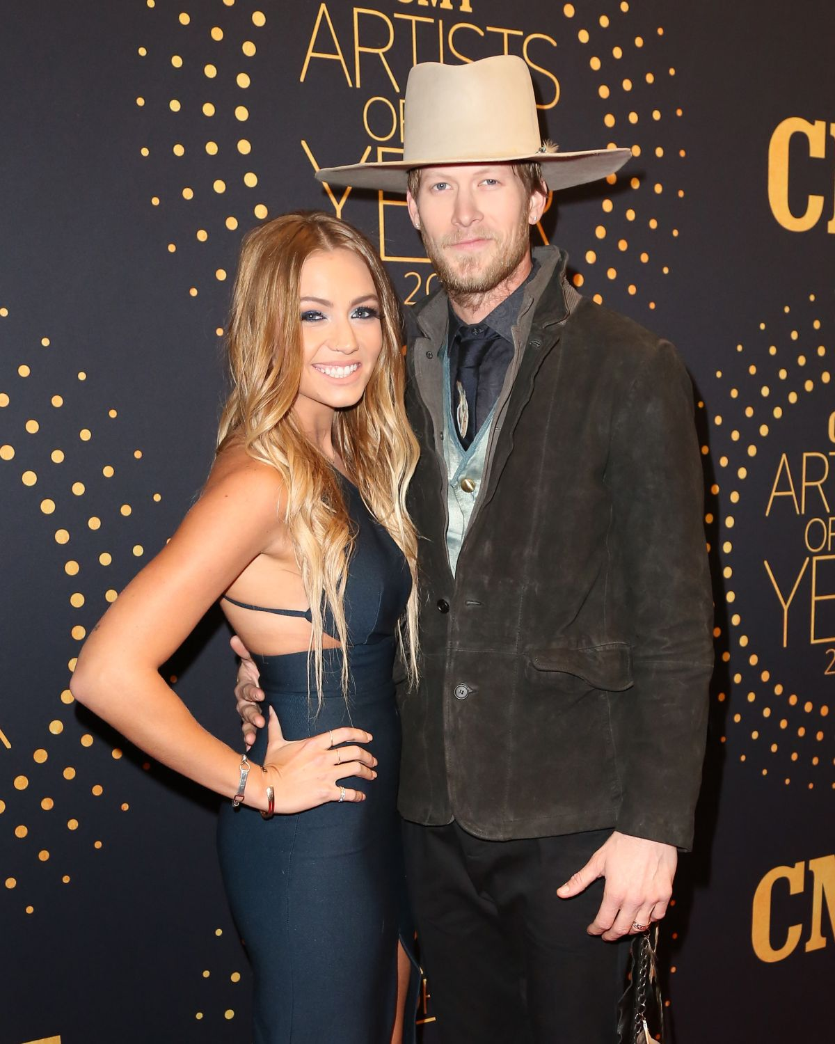 BRITTNEY MARIE COLE at 2015 CMT Artists of the Year Awards in Nashville 12/02/2015