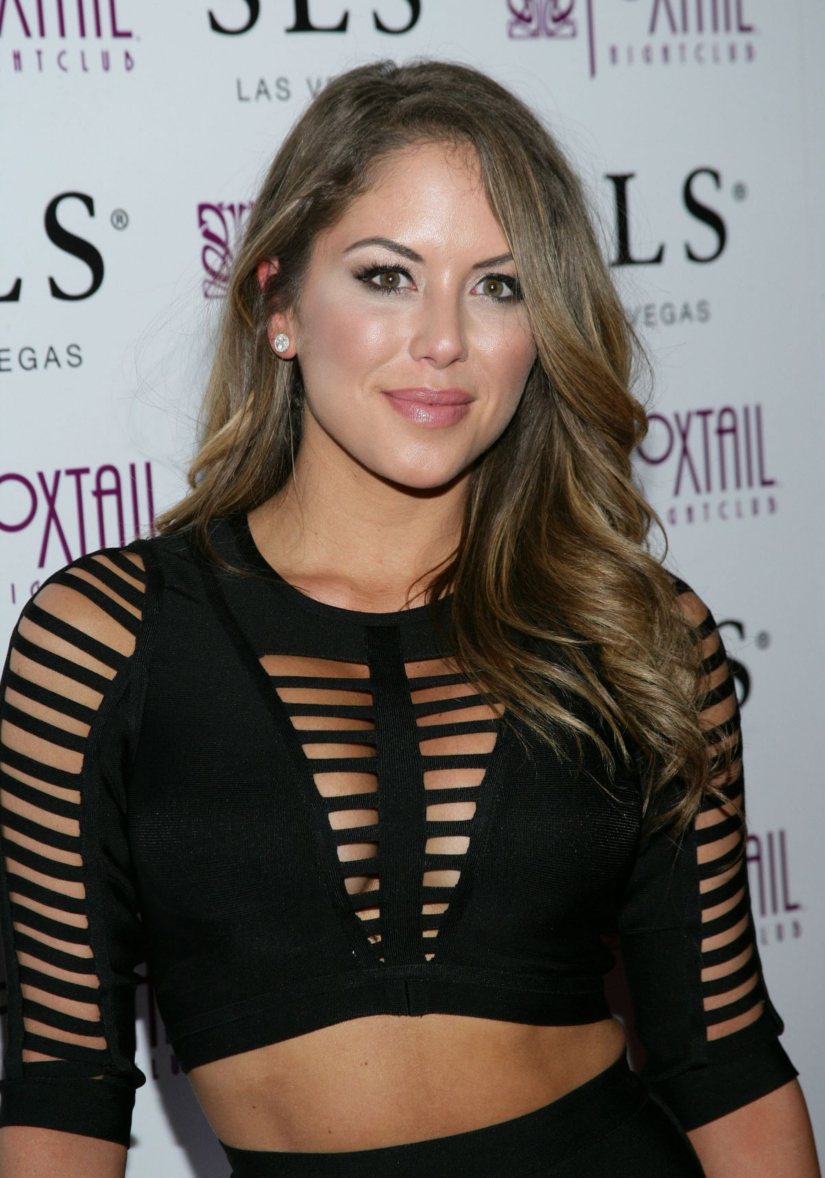 BRITTNEY PALMER at UFC 194 After Party at Foxtail Nightclub in Las Vegas 12/12/2015