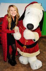 BROOKE SORENSON at Knott's Merry Farm Countdown to Christmas and Tree Lighting 12/05/2015