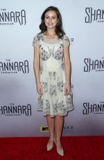 BROOKE WILLIAMS at The Shannara Chronicles Premiere Party in Los Angeles 12/04/2015