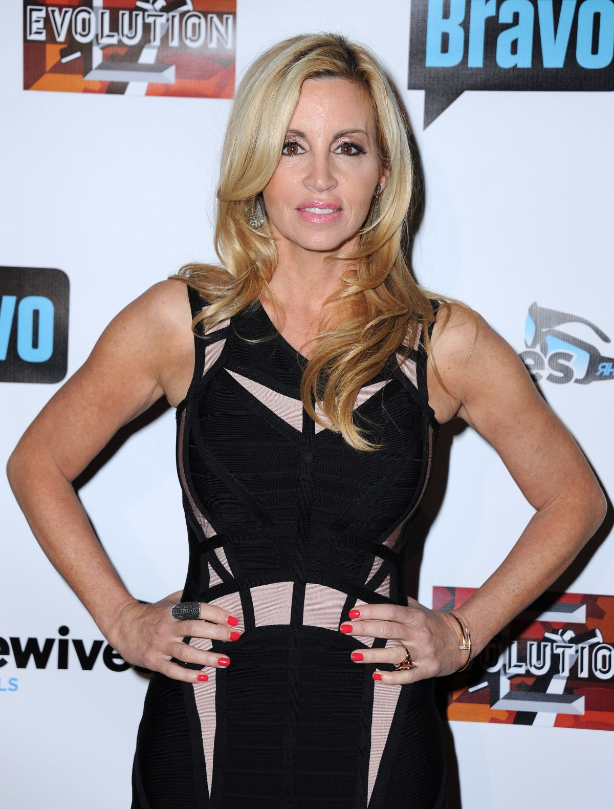 CAMILLE GRAMMER at The Real Housewives of Beverly Hills, Season 6 Premiere Party in Hollywood 12/03/2015