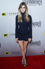 CARLSON YOUNG at The Shannara Cronicles Premiere Party in Los Angeles 12/04/2015