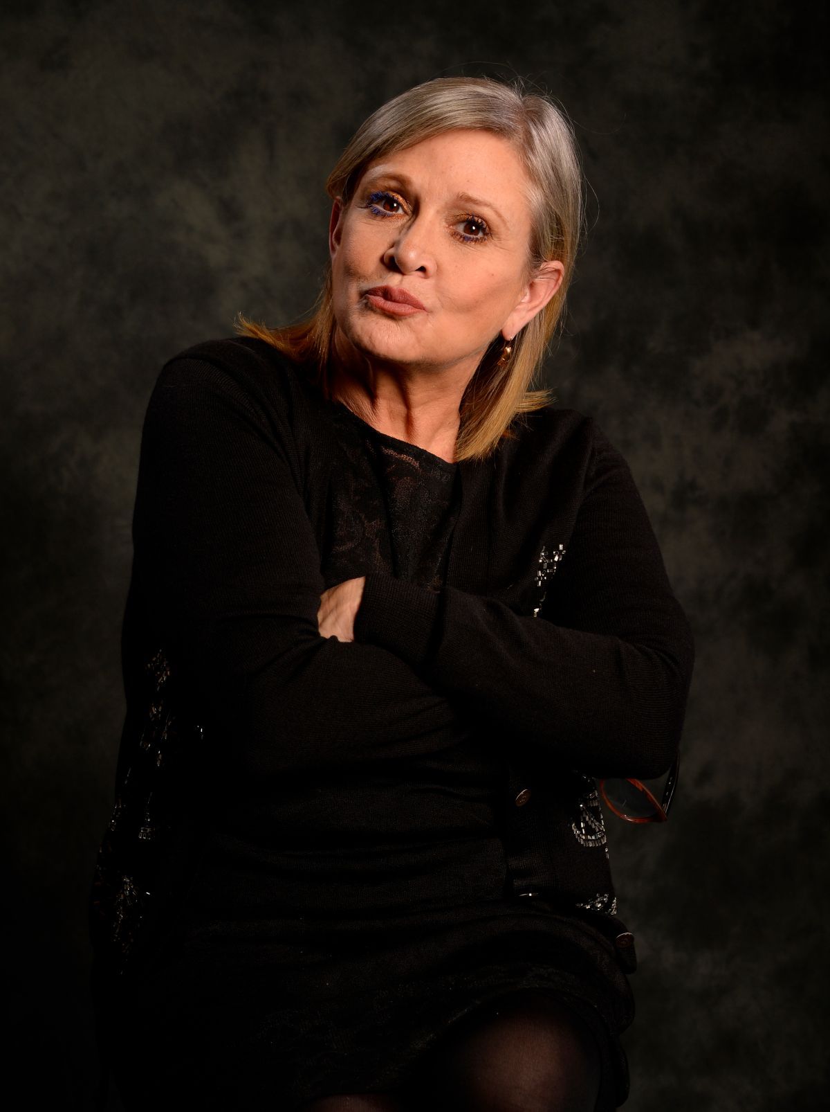CARRIE FISHER - USA Today 2015 Portrait