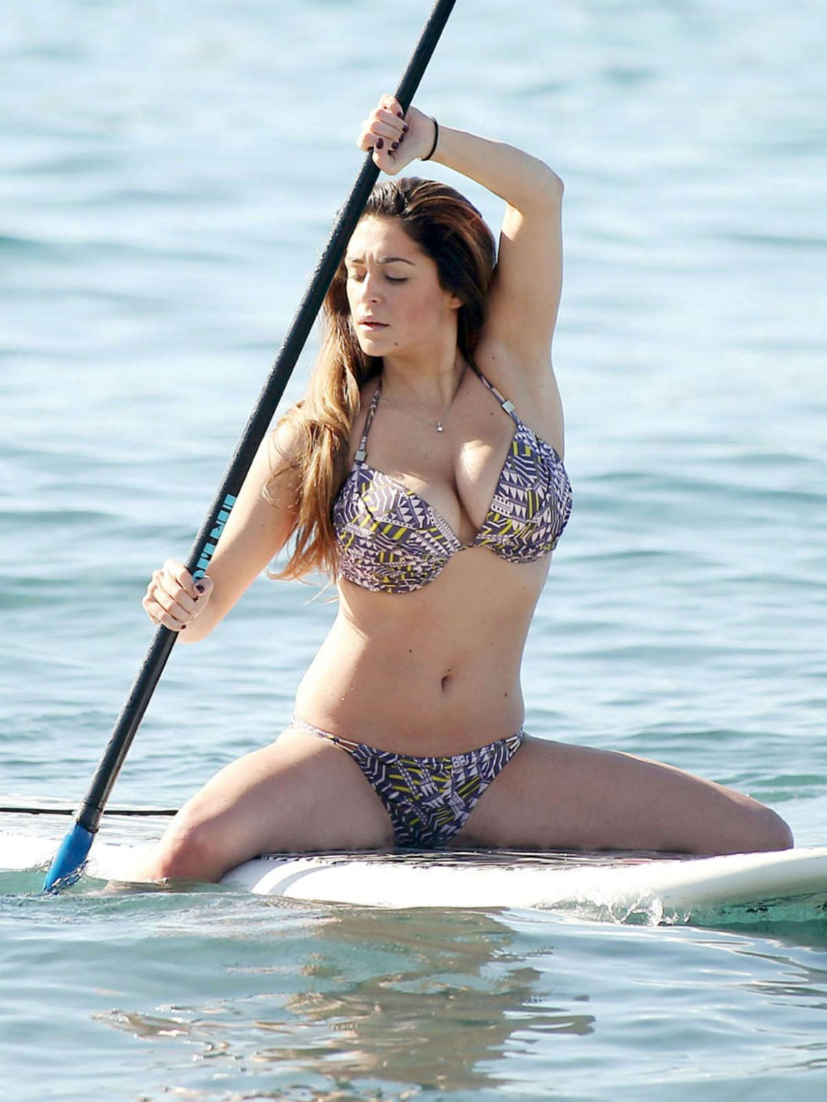 CASEY BATCHELOR in Bikini in Ibiza 12/08/2015