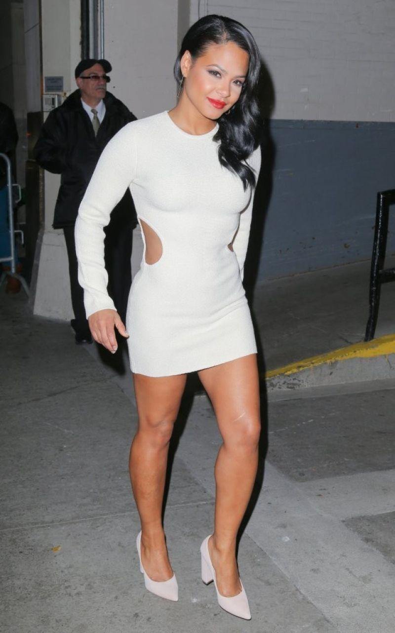 Christina milian tight dress can