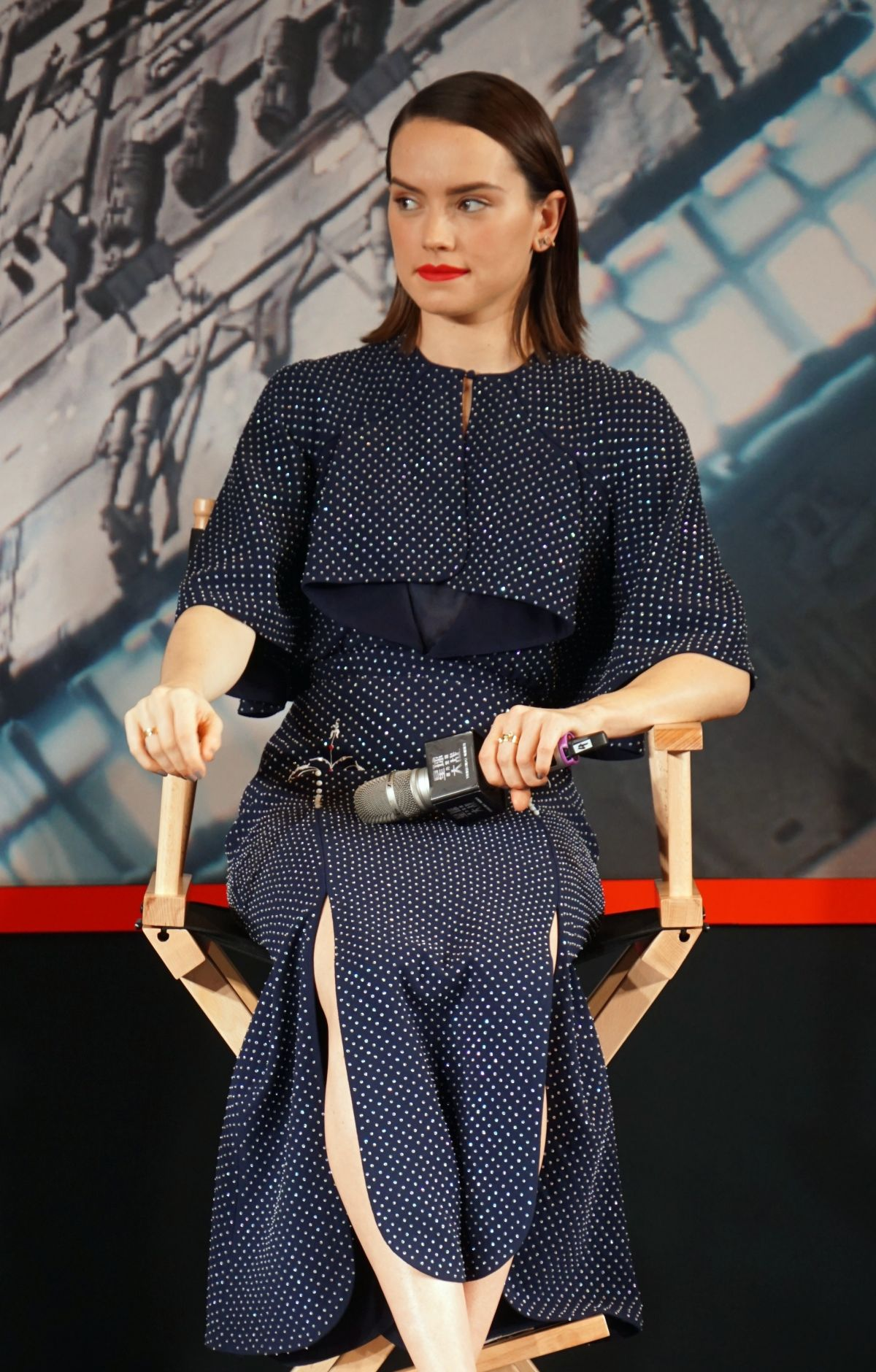 DAISY RIDLEY at Star Wars: The Force Awakens Photocall in Shangahai 12/28/2015