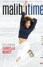 DANIELLA MONET in Malibu Times Magazine, Winter 2015 Issue