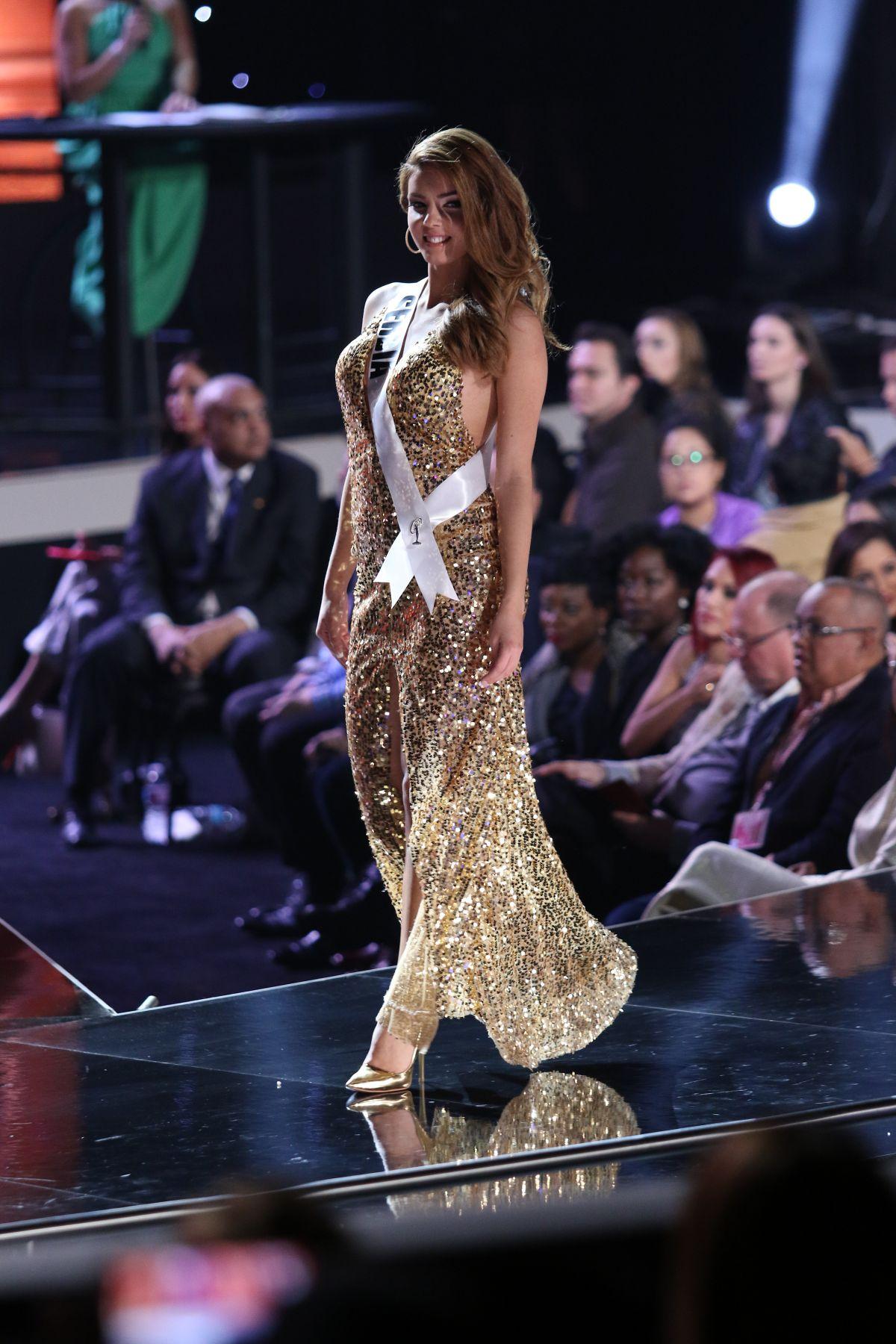 DASA RADOSAVLJEVIC - Miss Universe 2015 pPreliminary Round 12/16/2015
