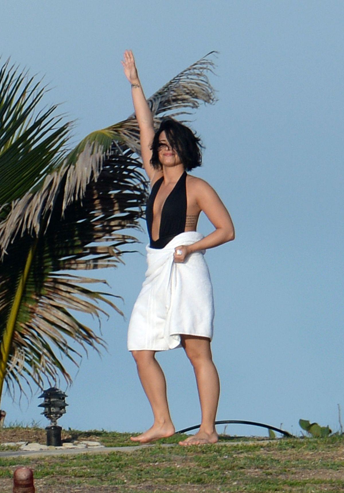Demi Lovato Swimsuit St Barts 41 Hawtcelebs