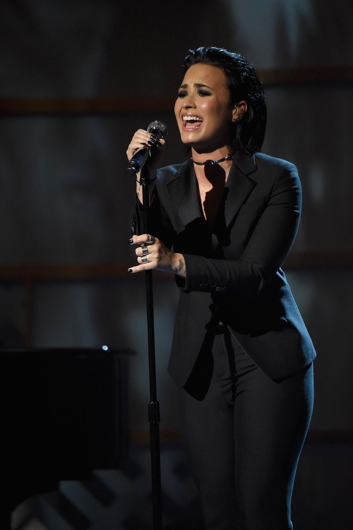 Demi Lovato Performs At Billboards Th Annual Women In Music Awards In New York