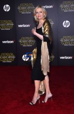 DIANE SAWYER at Star Wars: Episode VII – The Force Awakens Premiere in Hollywood 12/14/2015