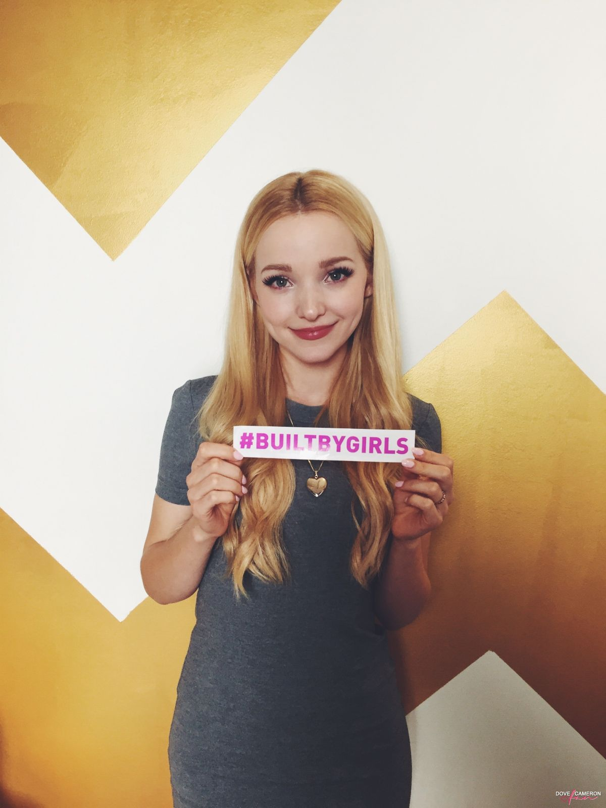 DOVE CAMERON - Built by Girls Campaign
