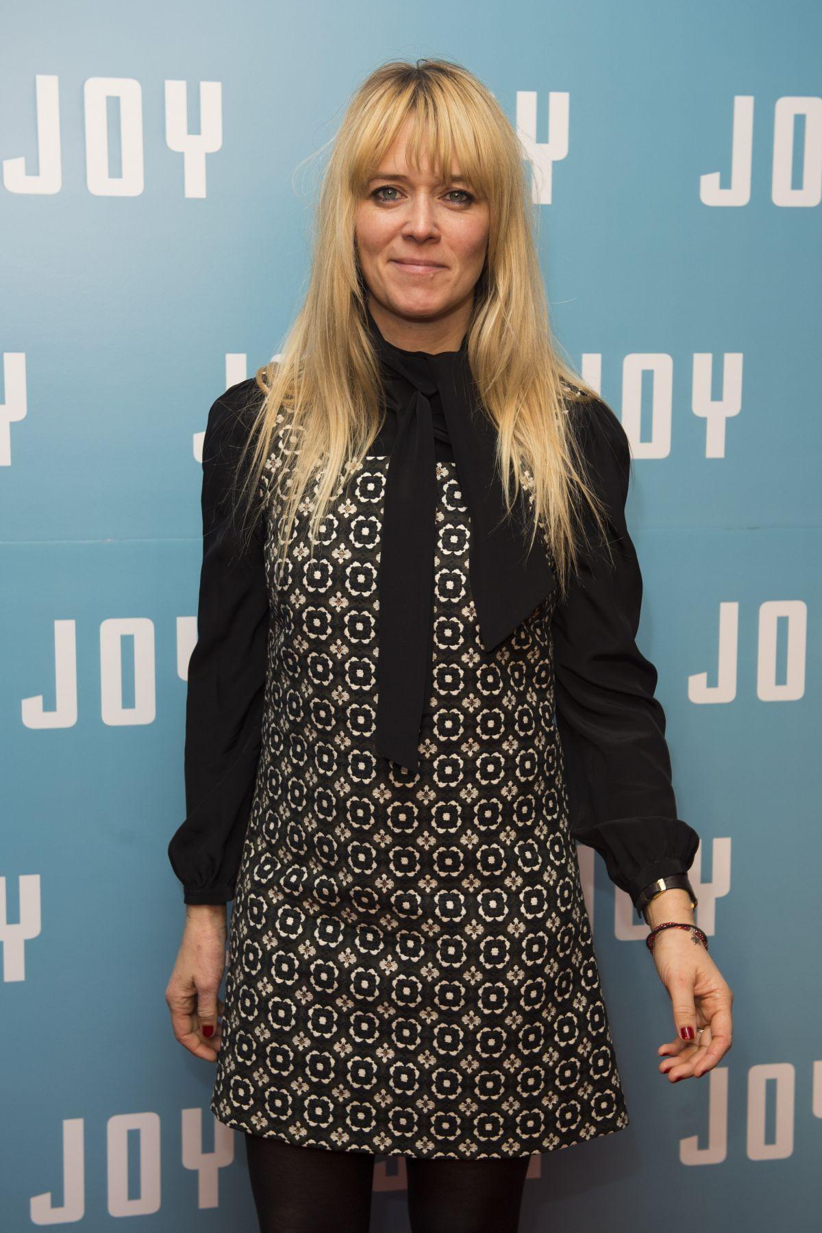 EDITH BOWMAN at Joy Special Screening at The Ham Yard Hotel in London 12/17/2015