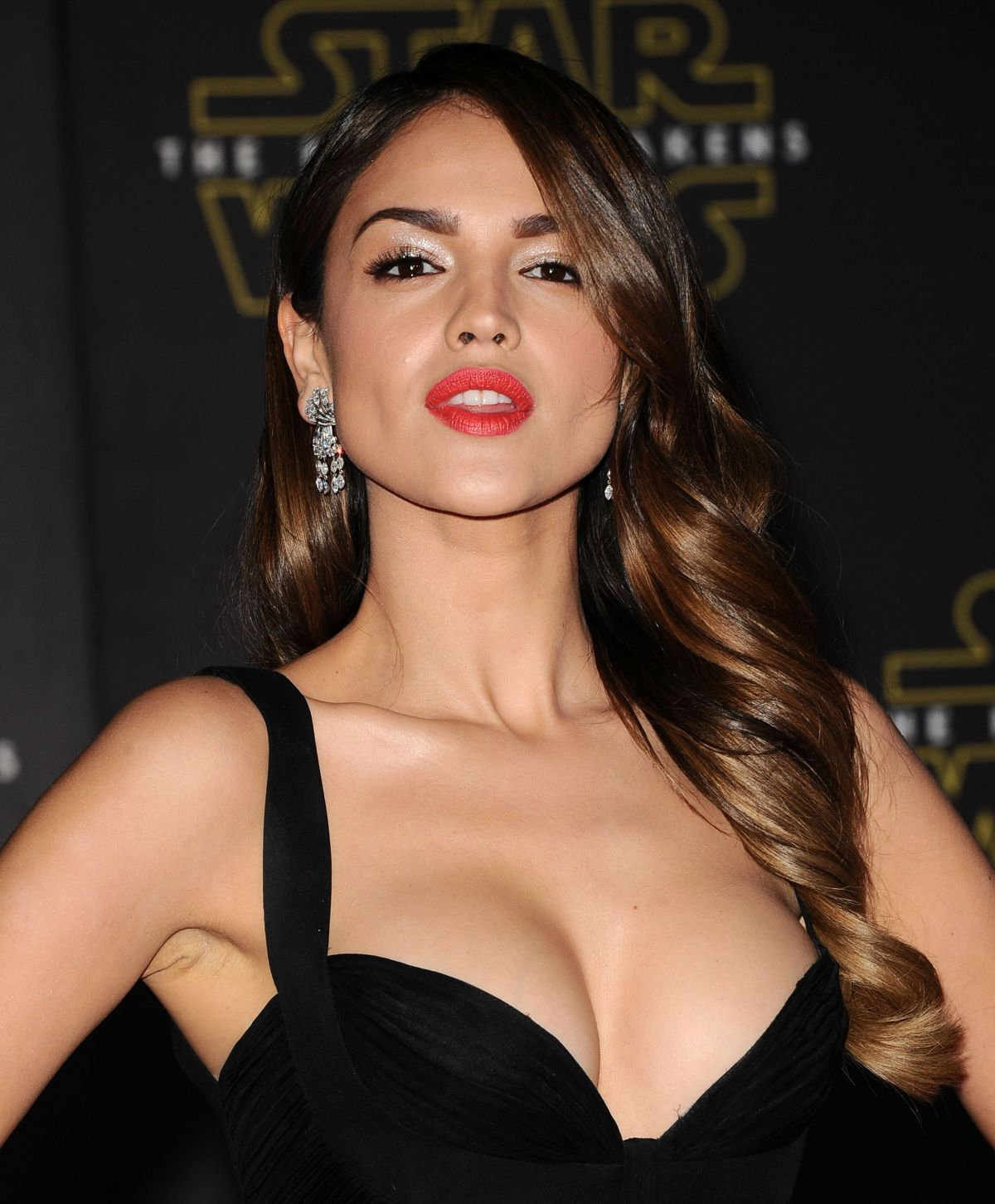 EIZA GONZALEZ at Star Wars: Episode VII – The Force Awakens Premiere in Hollywood 12/14/2015