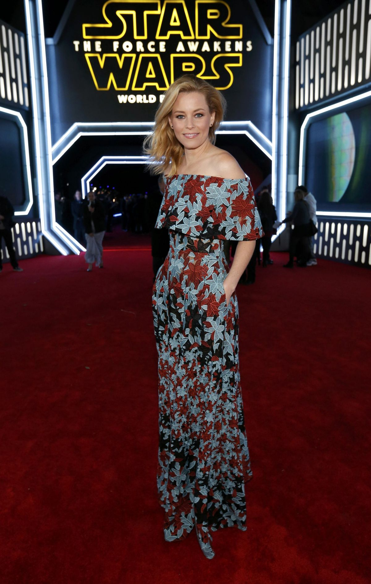 ELIZABETH BANKS at Star Wars: Episode VII – The Force Awakens Premiere in Hollywood 12/14/2015
