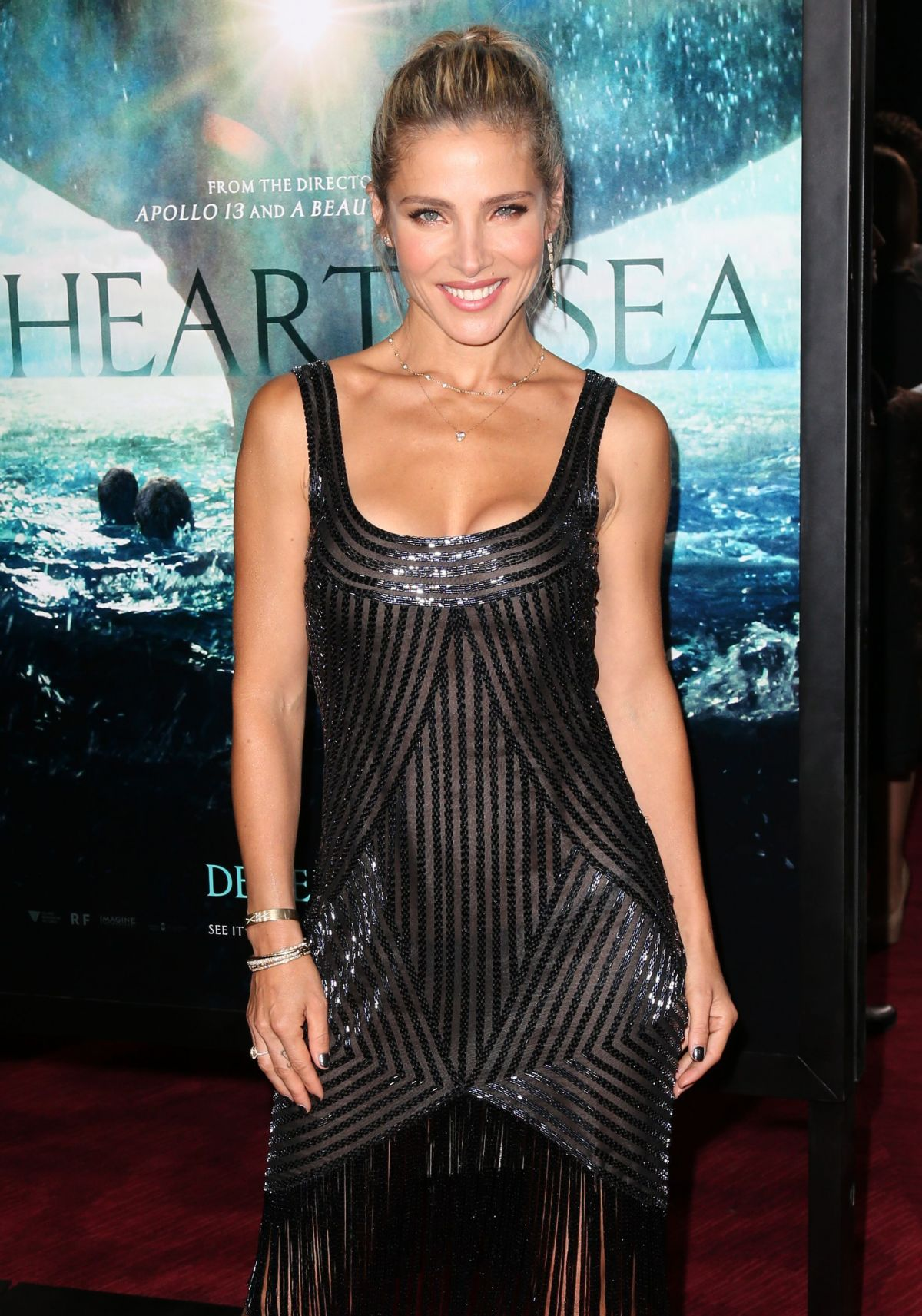 ELSA PATAKY at In the Heart of the Sea Premiere in New York 12/07/2015