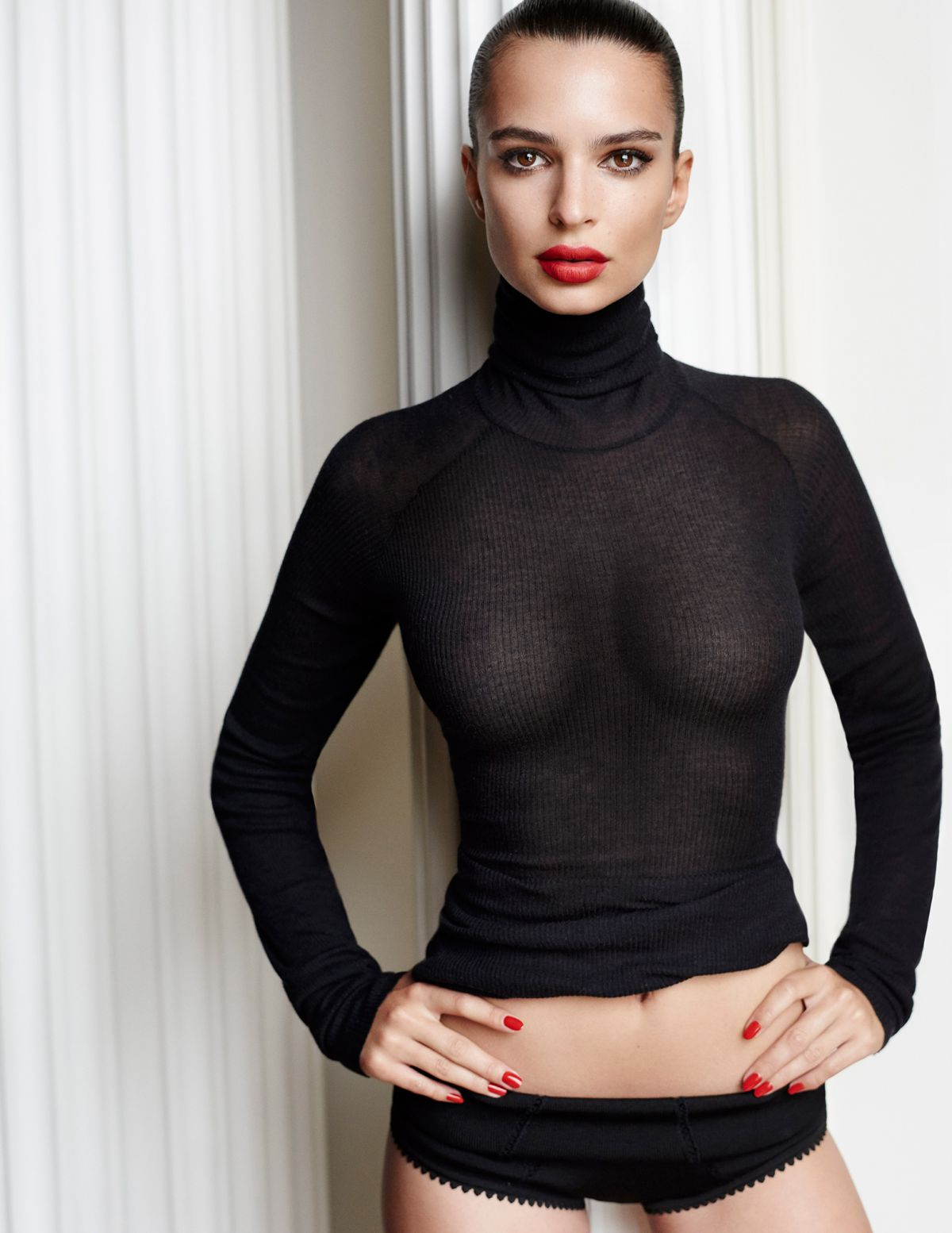 EMILY RATAJKOWSKI by Mario Testino  for GQ Magazine
