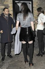EMMA MILLER Arrives at Chiltern Firehouse in London 12/19/2015