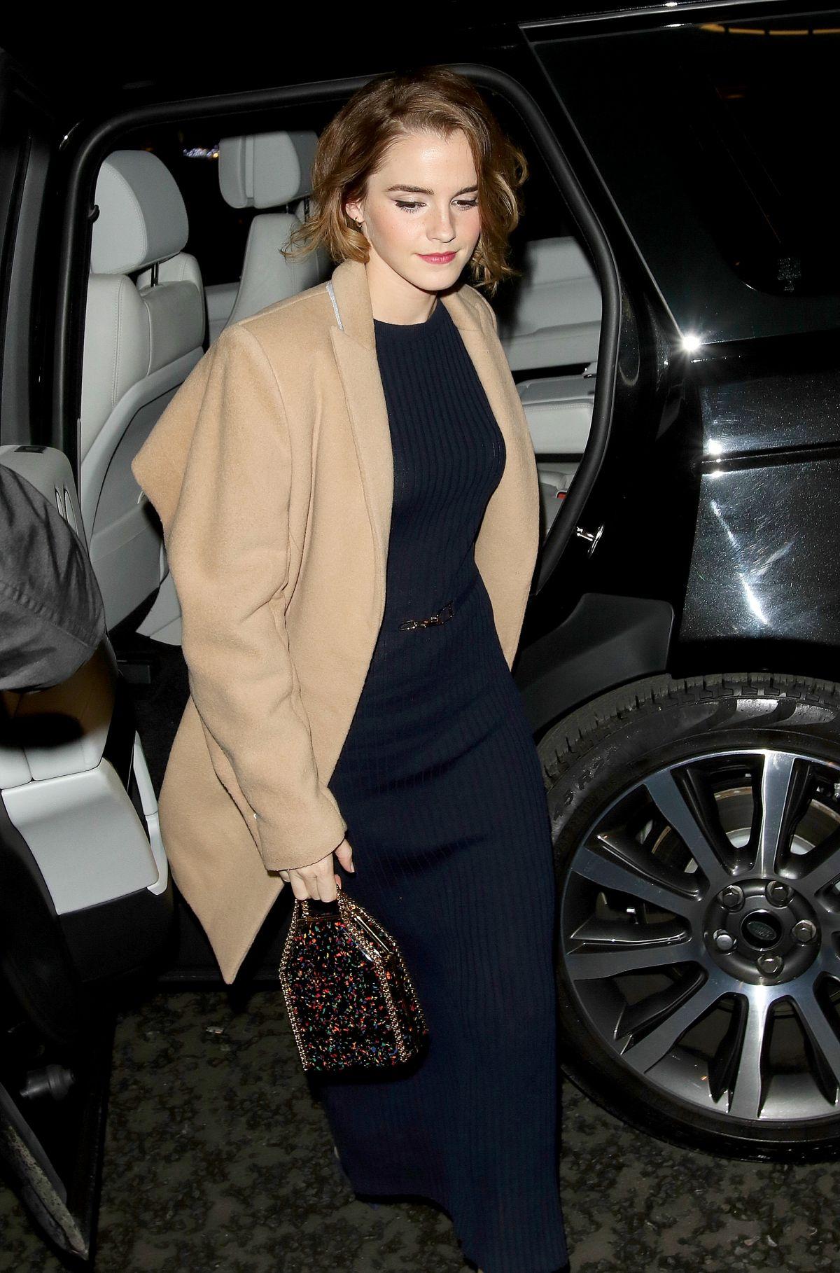 Emma Watson At The True Cost Screenig In London 12 08 2015