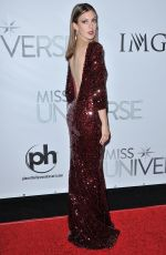 ERIN BRADY at 2015 Miss Universe Pageant in Las Vegas 12/20/15