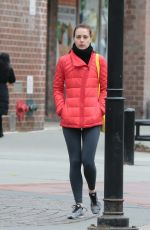 EVA AMURRI Out and About in New York 12/18/2015
