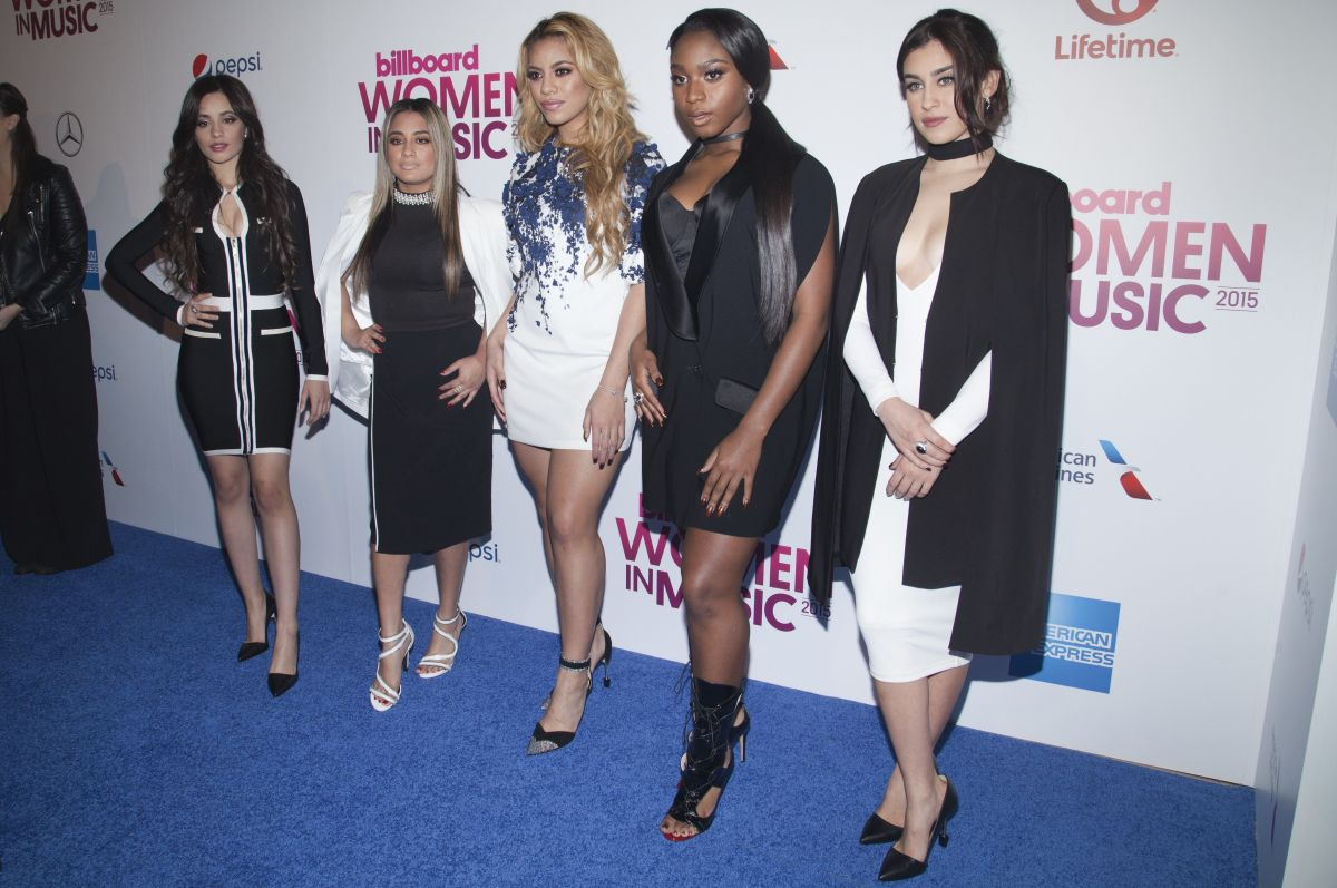 FIFTH HARMONY at Billboard's 10th Annual Women in Music Awards in New York 12/11/2015