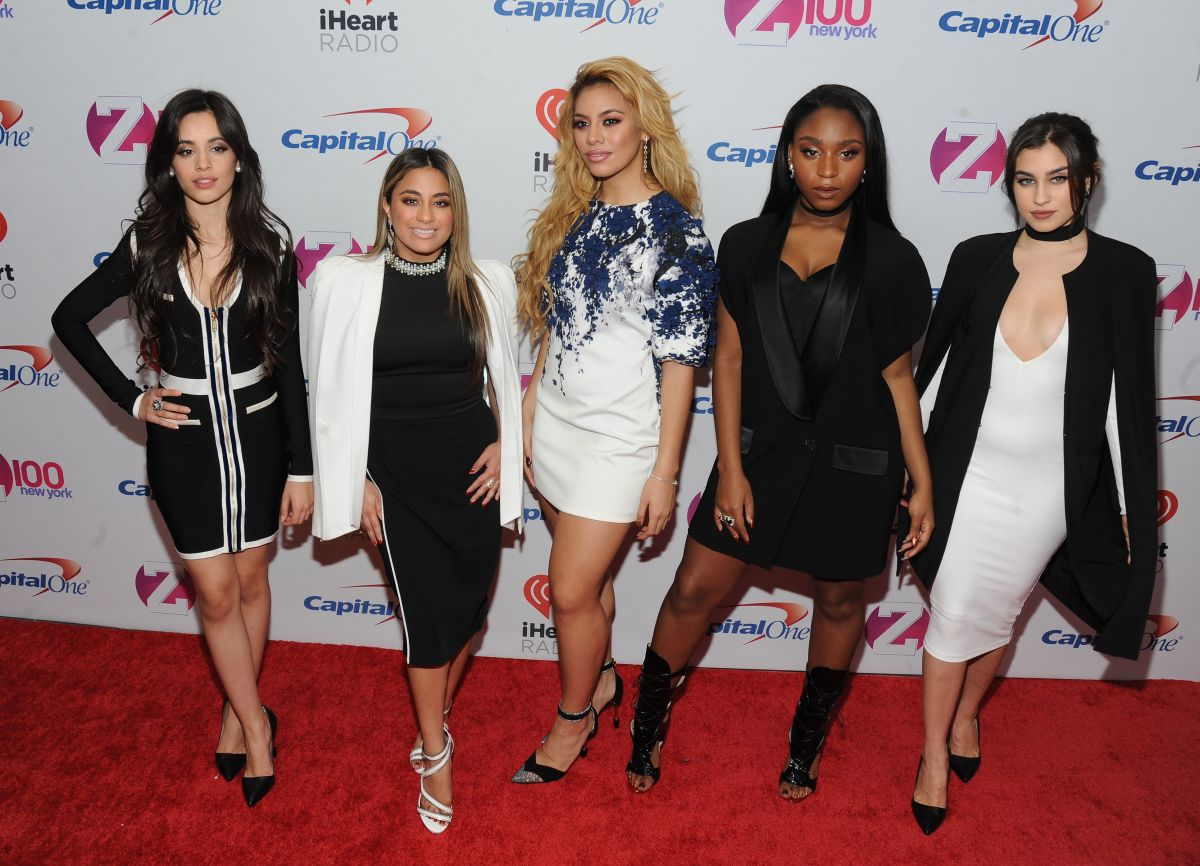 FIFTH HARMONY at Z100's Jingle Ball 2015 in New York 12/11/2015