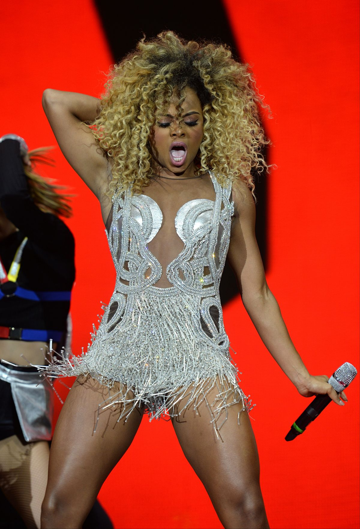 FLEUR EAST at Jingle Bell Ball 2015, Day One in London 12/05/2015