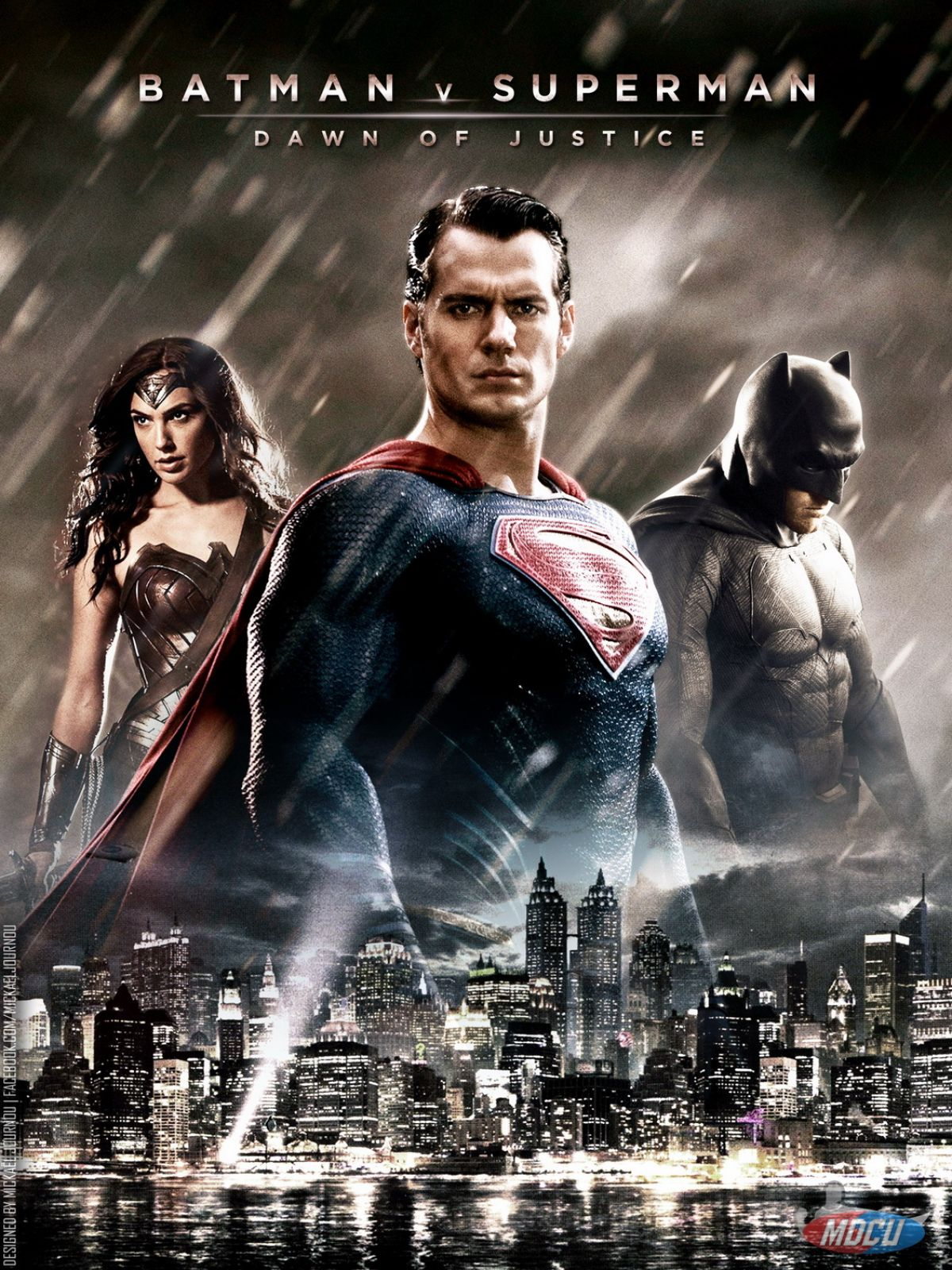 Superman vs batman 2017 movie poster