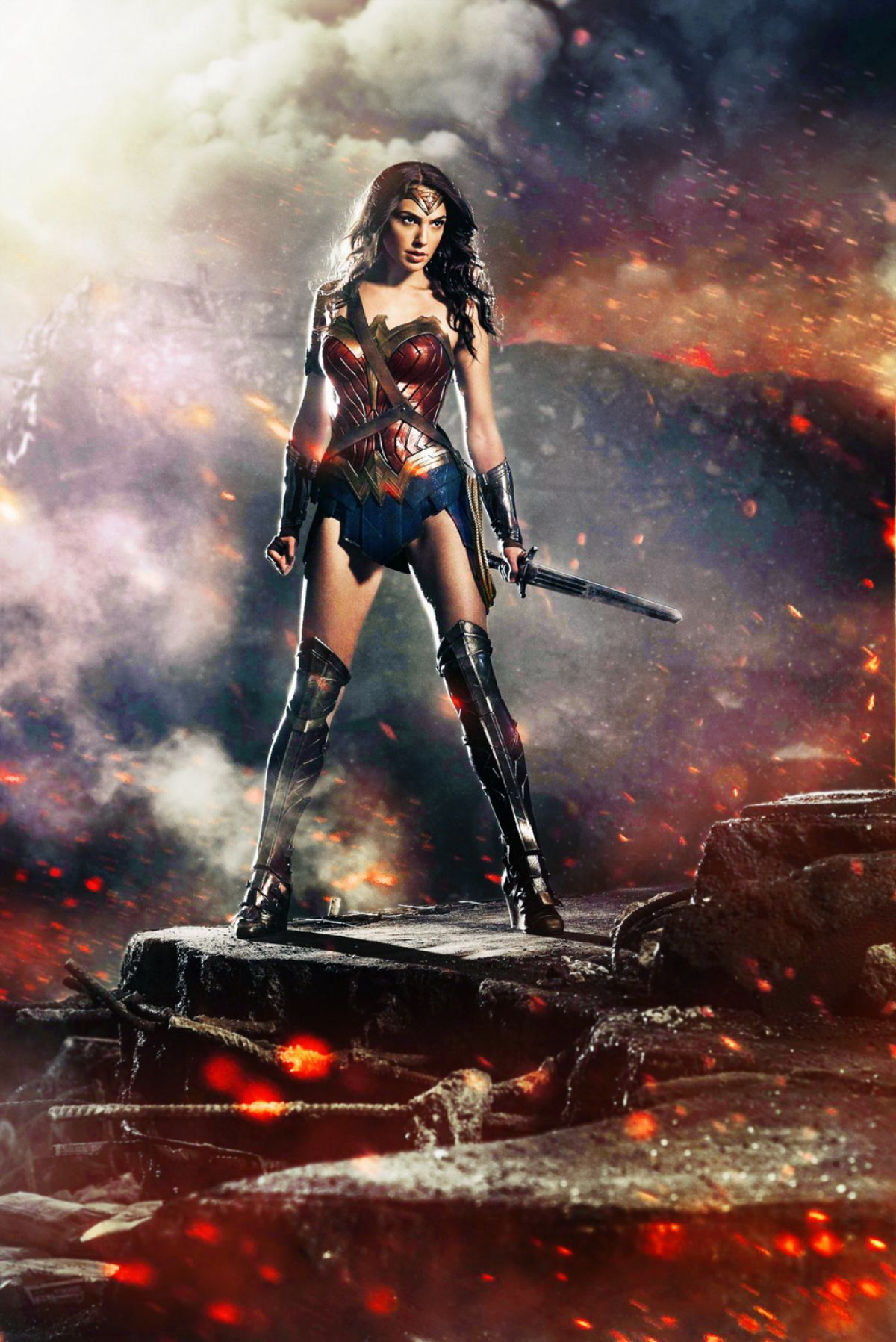 Gal Gadot  Superman Vs Batman  Wonder Woman  Justice -5954