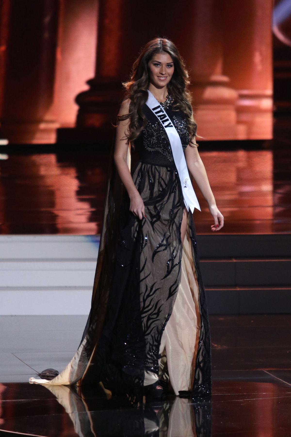 GIADA PEZZAIOLI - Miss Universe 2015 Preliminary Round 12/16/2015