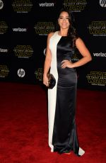 GINA RODRIGUEZ at Star Wars: Episode VII – The Force Awakens Premiere in Hollywood 12/14/2015
