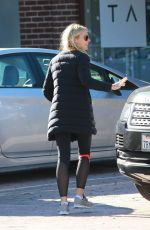 GWYNETH PALTROW Out in Brentwood 12/29/2015