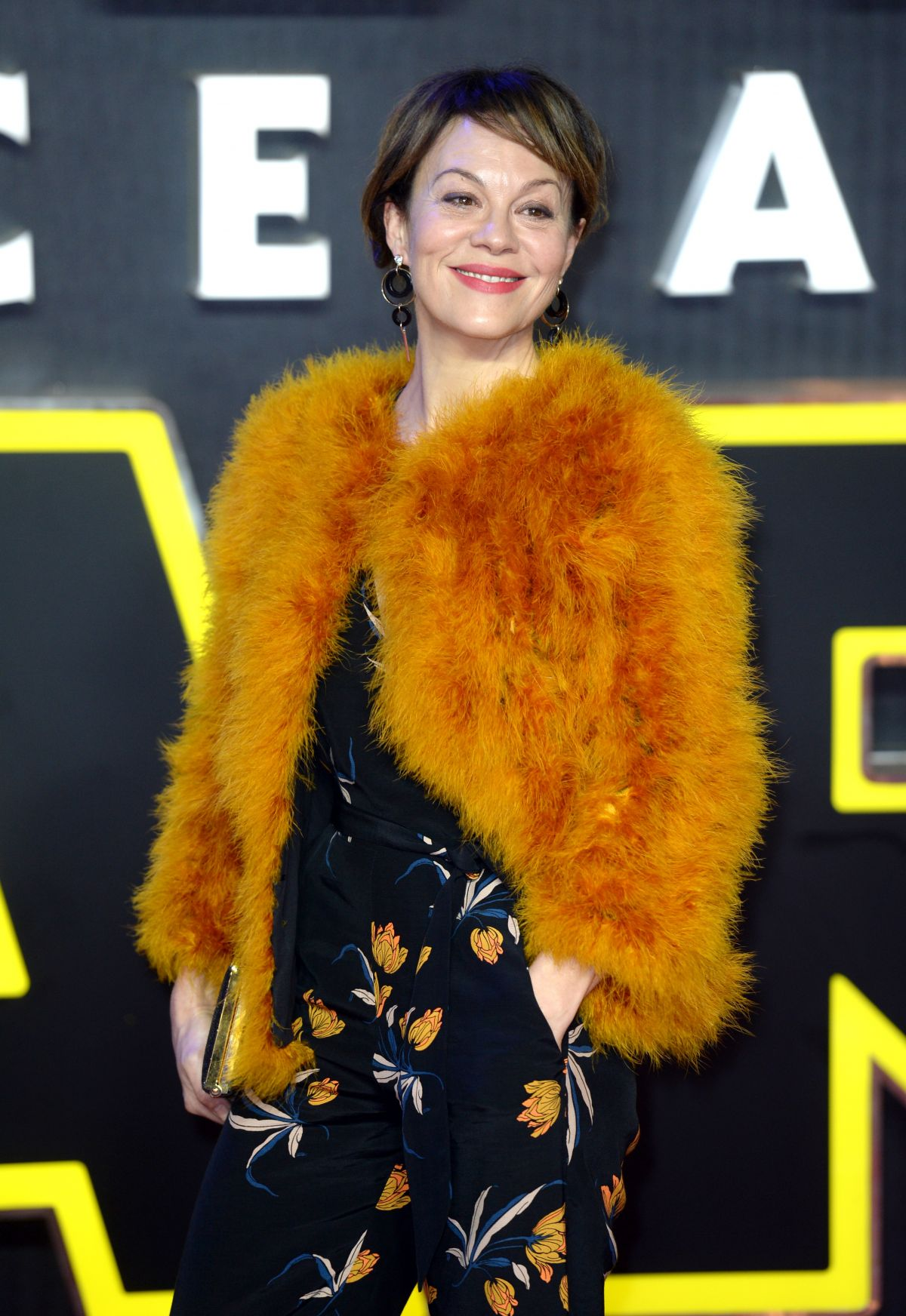 HELEN MCCRORY at Star Wars: The Force Awakens Premiere in London 12/16/2015