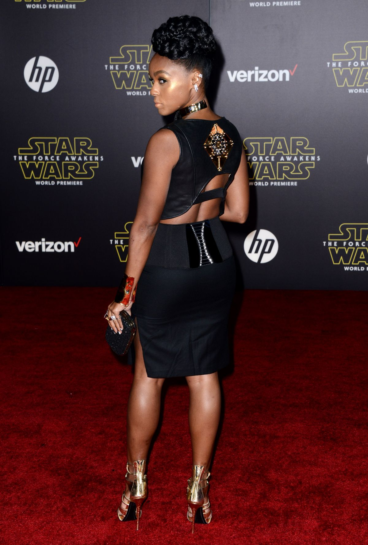 JANELLE MONAE at Star Wars: Episode VII – The Force ...