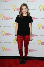 JEN LILLEY at Children's Miracle Network Hospital's Winter Wonterland Ball in Hollywood 12/12/2015