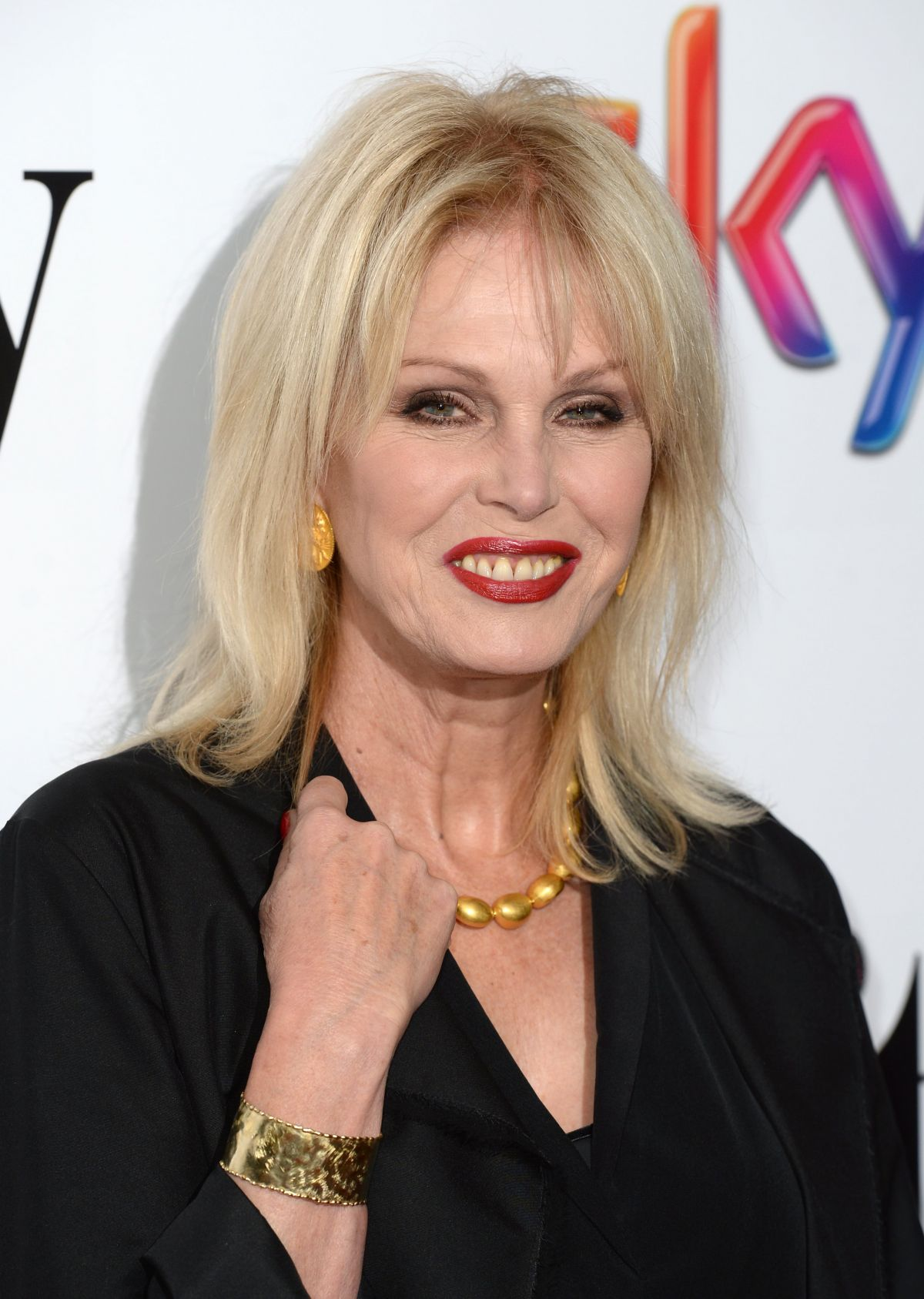 JOANNA LUMLEY at 2015 Sky Women in Film and TV Awards in London 12/04/2015