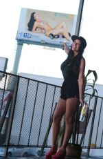 JULES LIESL - 138 Water Billboard Campaign in Hollywood 12/28/2015