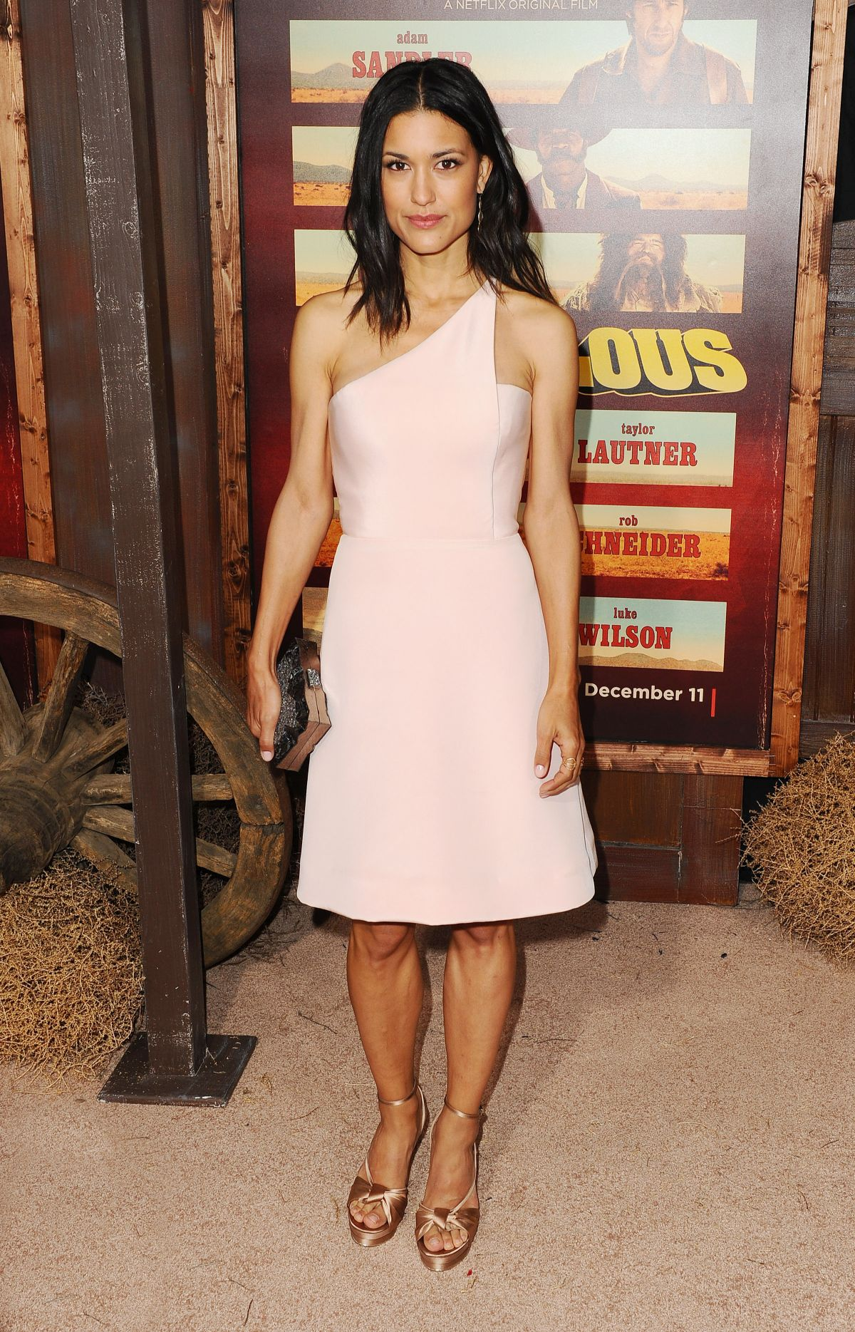 JULIA JONES at The Ridiculous 6 Premiere in Univesal City 11/30/2015