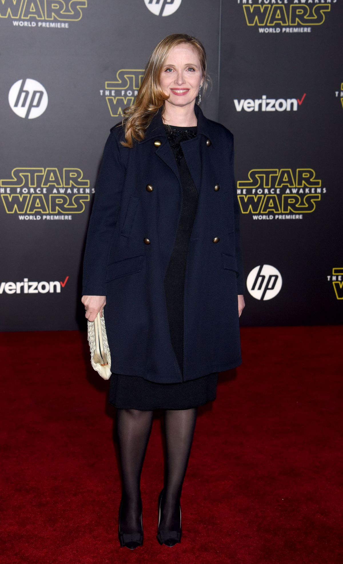 JULIE DELPY at Star Wars: Episode VII – The Force Awakens Premiere in Hollywood 12/14/2015