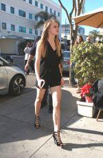KAROLINA PISAREK and JOANNA KRUPA Out in Beverly Hills 12/29/2015