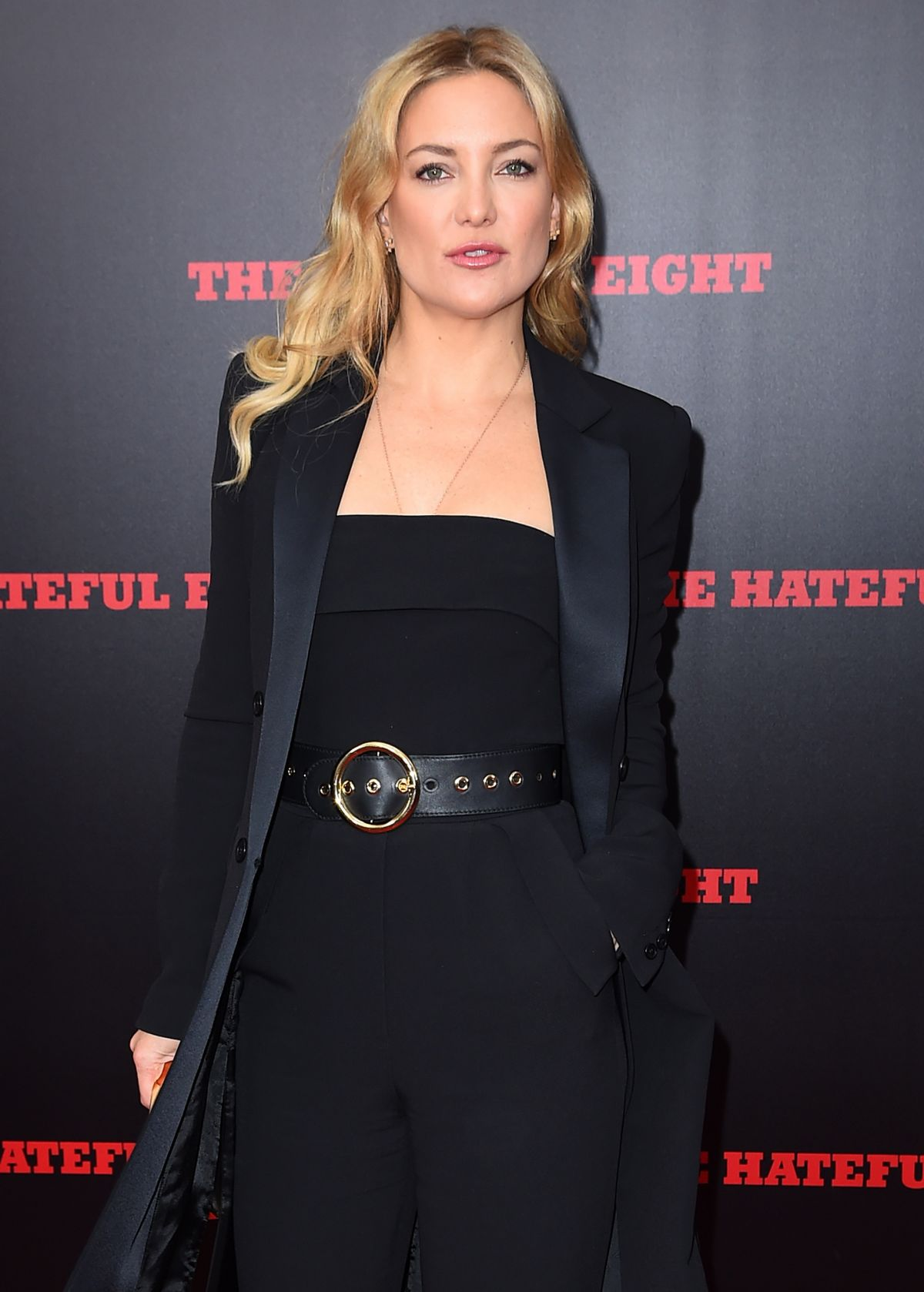 KATE HUDSON at The Hateful Eight Premiere in New York 12/14/2015