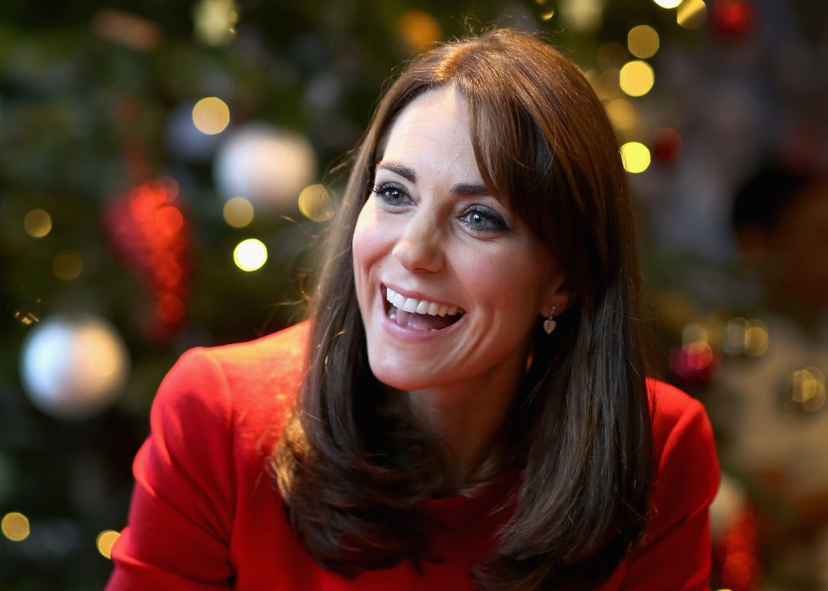 KATE MIDDLETON at Anna Freud Centre Family School Christmas Party in London 12/15/2015