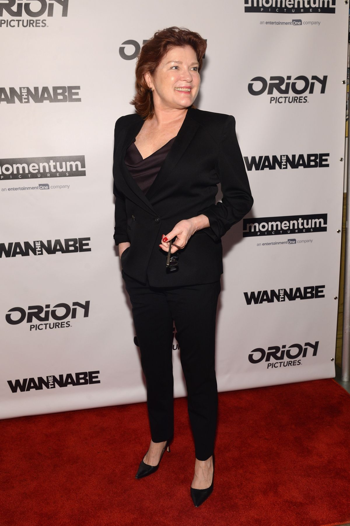 KATE MULGREW at The Wannabe Premiere in New York 12/02/2015