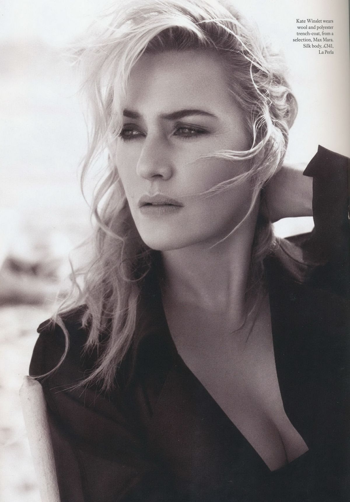 KATE WINSLET in Harper's Bazaar Magazine, UK December 2015 Issue